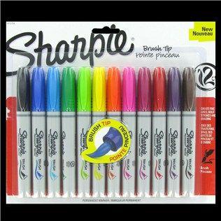Sharpie Brush Tip Marker Set Shop Hobby Lobby Brush Tip