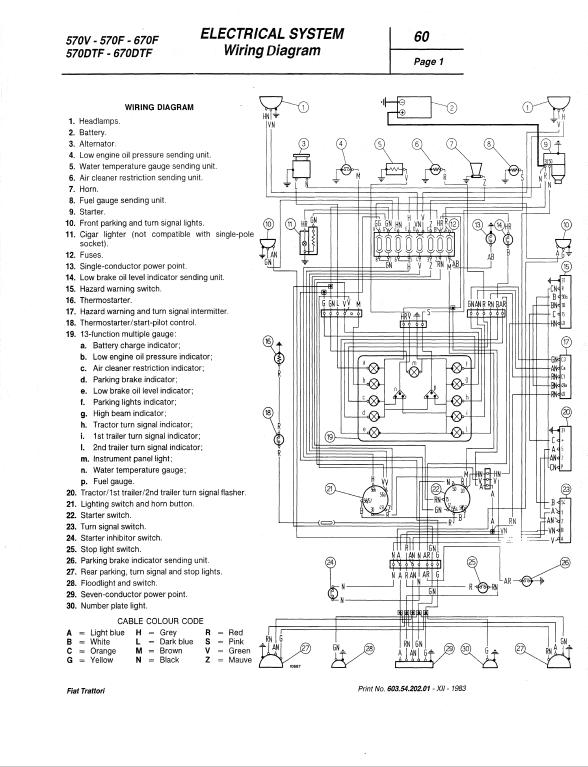 Fiat 580 580dt 680 680dt Tractor Service Manual Fiat Tractors Repair Manuals