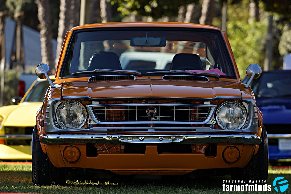 Vintage Toyota Japanese Classic Car Show Toyota Whip Jdm