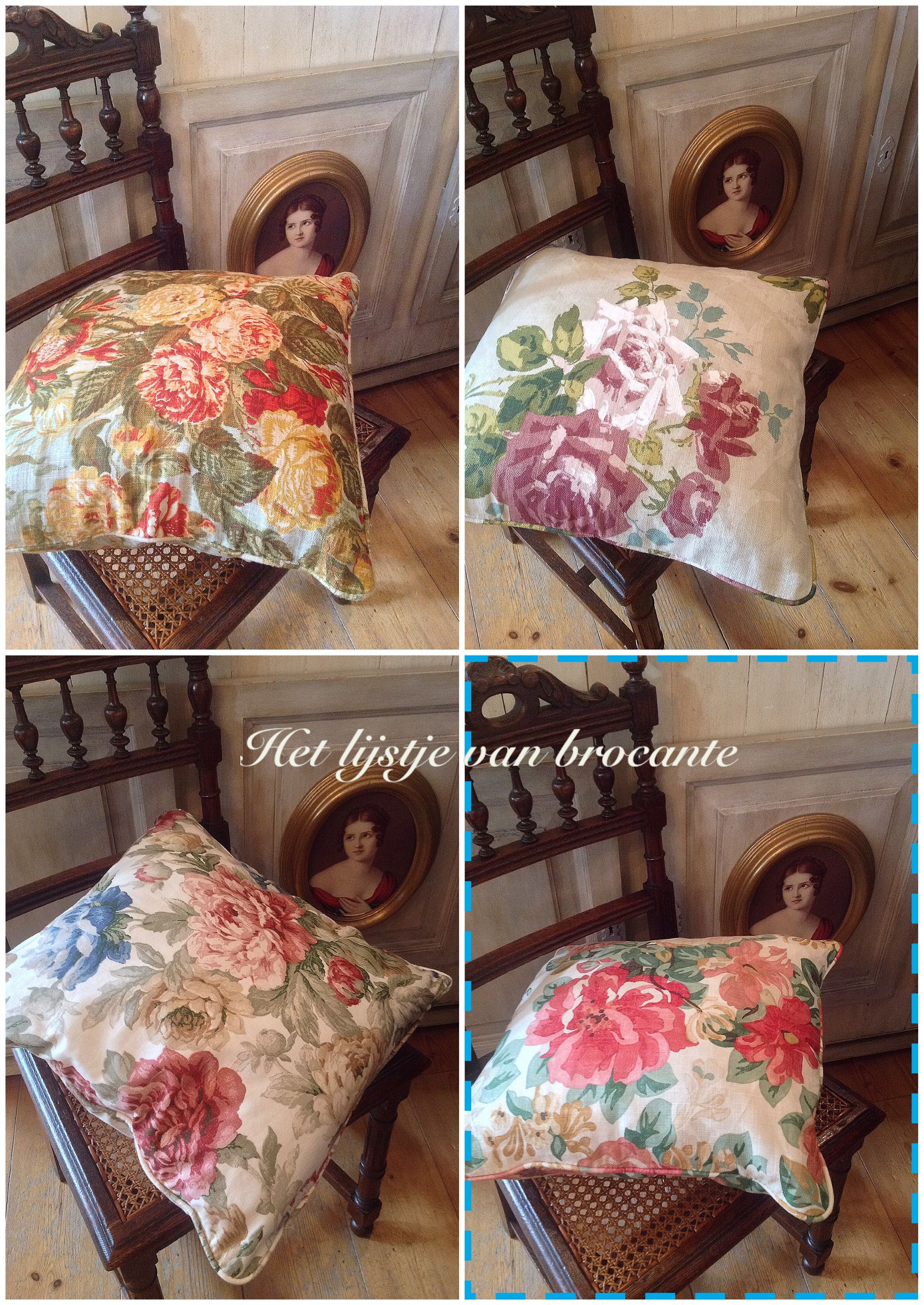 Beautiful English pillows in my shop!!!
