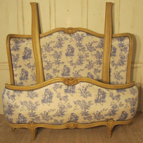 19th C French Corbielle Chateau Double Bed - Antiques Atlas