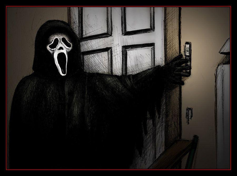403 Forbidden Horror Movie Characters Ghostface Scream Movie
