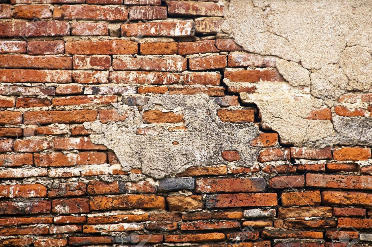 10672569 cracked brick wall stock photo broken jpg 1300 on brick wall id=30147
