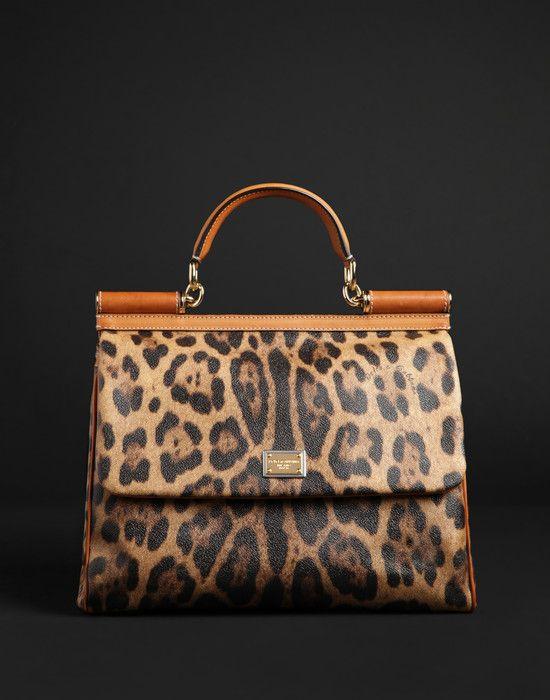 Dolce   Gabbana Sac Cuir, Sac À Main, Chaussure, Imprimé Animal,  Maroquinerie 995e156dc79