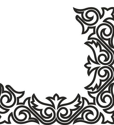 ажурные ламбрекены шаблоны трафареты наклейки | Элементы ... Африканский Орнамент Вышивка
