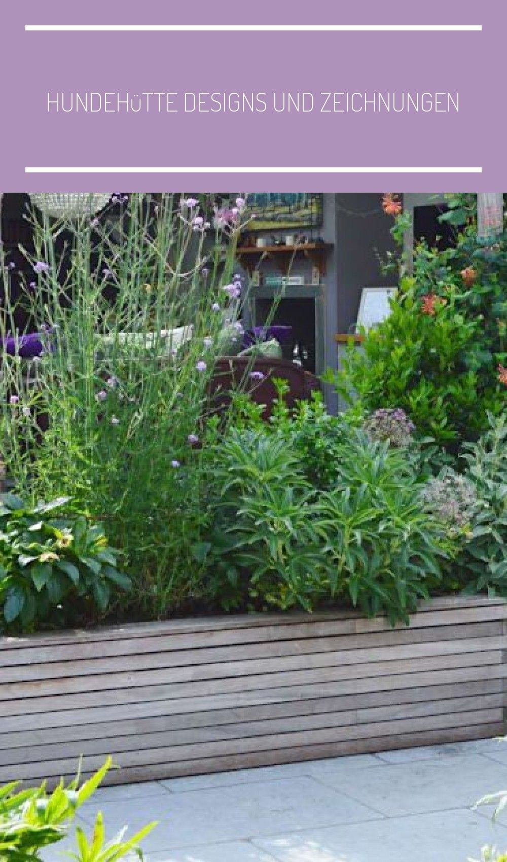 New Photos Long Raised Beds As A Boundary And Privacy Screen In Front Of The Ter In 2020 Small Space Gardening Contemporary Garden Raised Planter