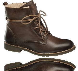 Sznurowane Trzewiki Damskie Highland Creek 1111988 Chukka Boots Boots Combat Boots