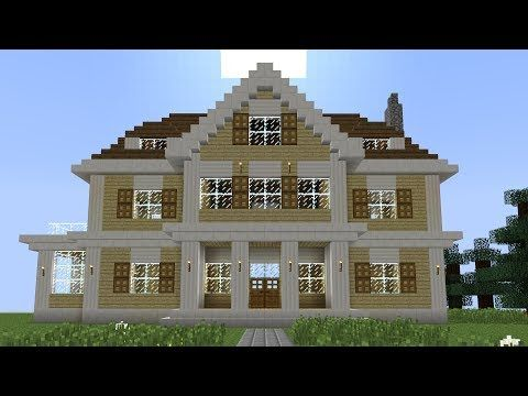 Minecraftstream Minecraft Tutorials How To Build A Huge Mansion