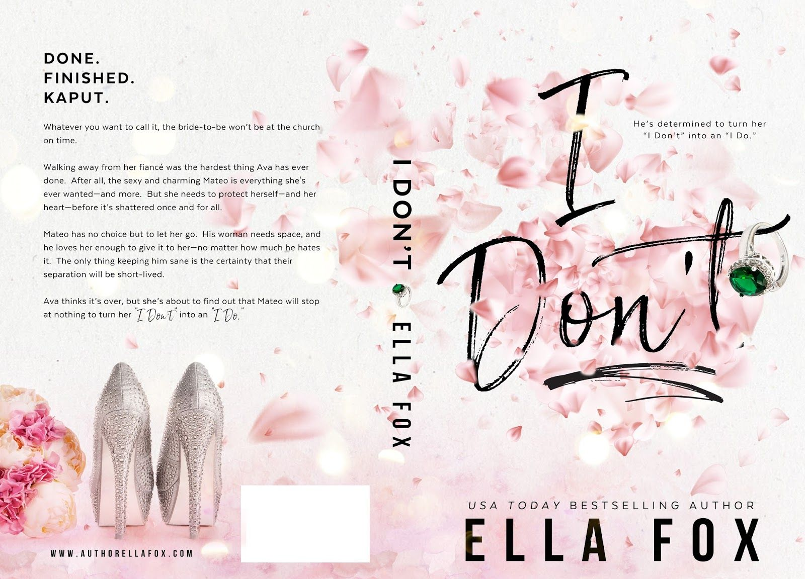 Releasing Now I Don T By Ella Fox