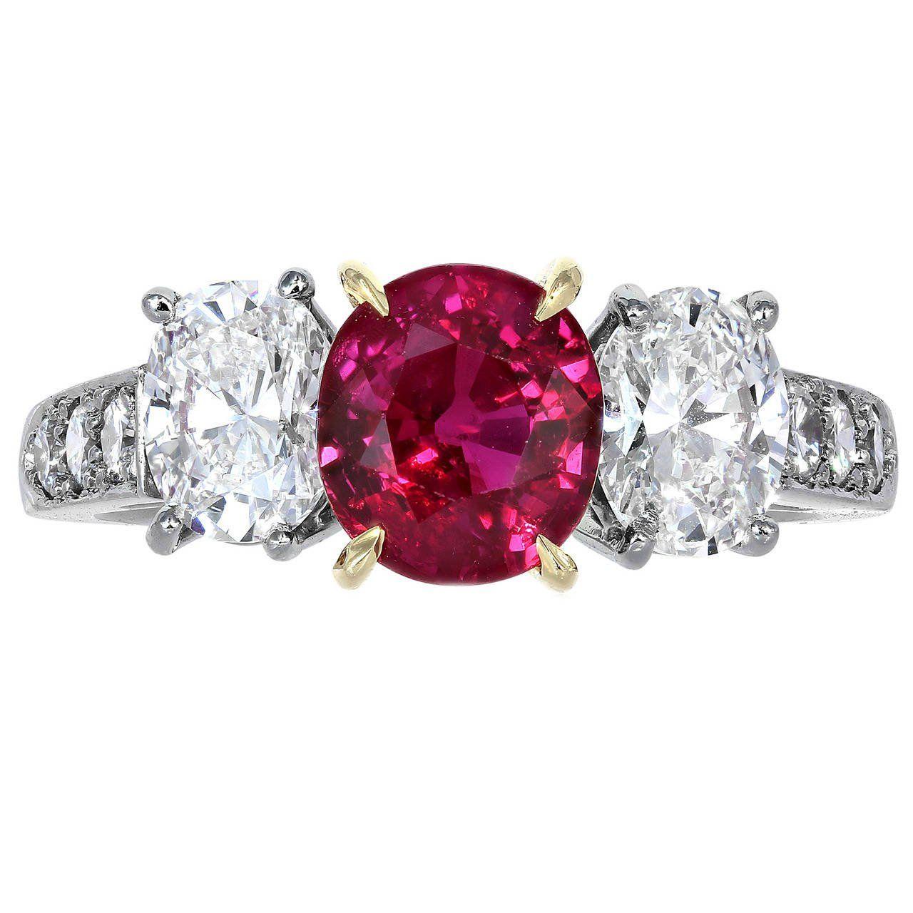 carat ruby diamond ring ruby diamond rings diamond and ring