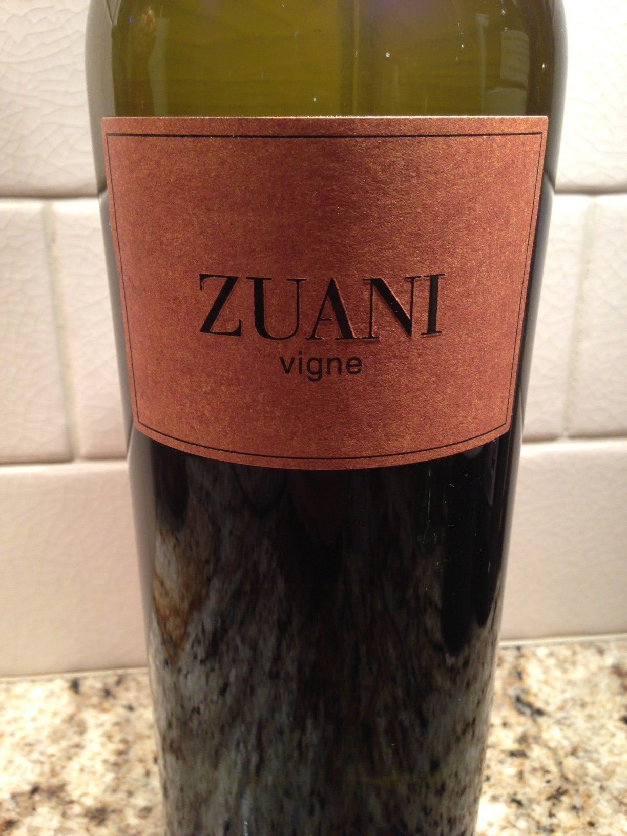 2011 Zuani Vigne Collio Bianco Food Wine Chickie Insider Wine Images Wine Recipes Wine Bottle