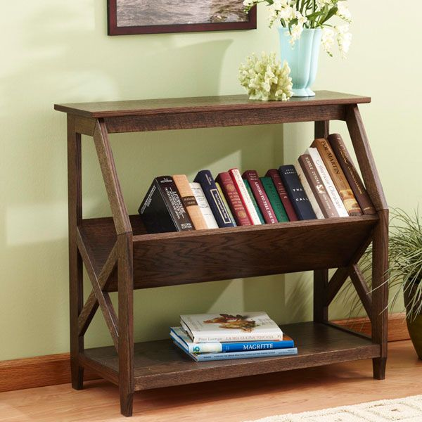 built with a tilt book nook bookcase woodworking plan from