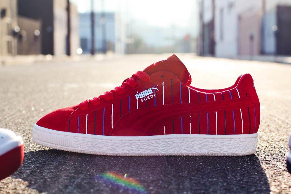 8df61ed63455 Puma Suede 'Liberty'   Sneakers: Puma Suede   Adidas sneakers, Puma ...