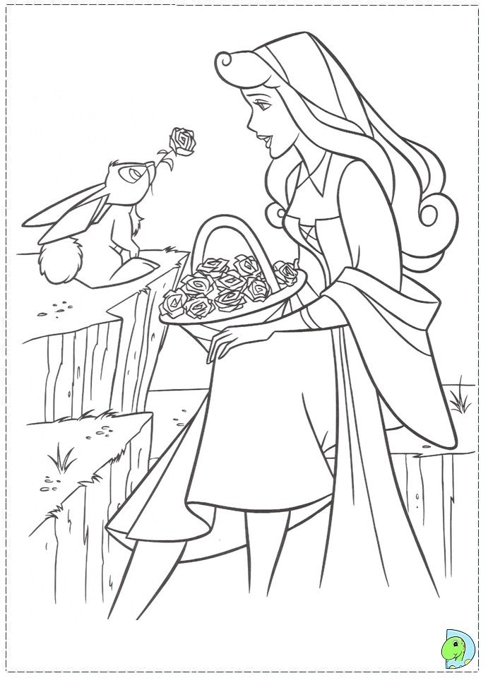 coloriage la belle au bois dormant | Coloring 14-Disney, Pixar, Ect ...