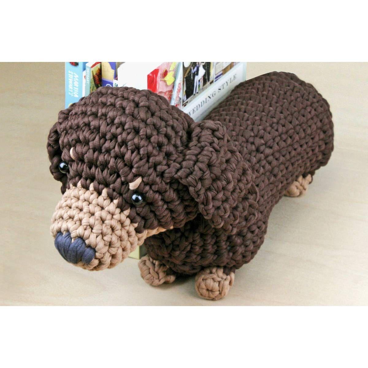 Dash the Dachshund Pup; CROCHET PATTERN; PDF | Crochet patterns ... | 1200x1200