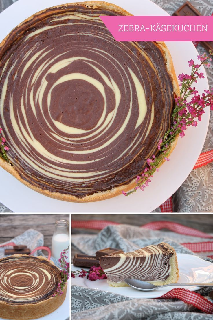 Recipe: Zebra cake or cheesecake with a difference - Lavender blog - Zebra cheesecake: recipe for a...