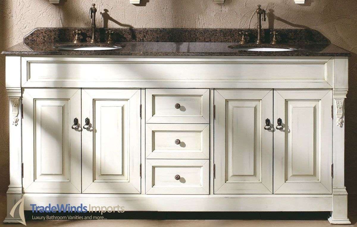 72 Sicily Double Sink Vanity Cottage 72 Inch Bathroom Vanity Double Sink Bathroom Vanity Bathroom Vanities Without Tops