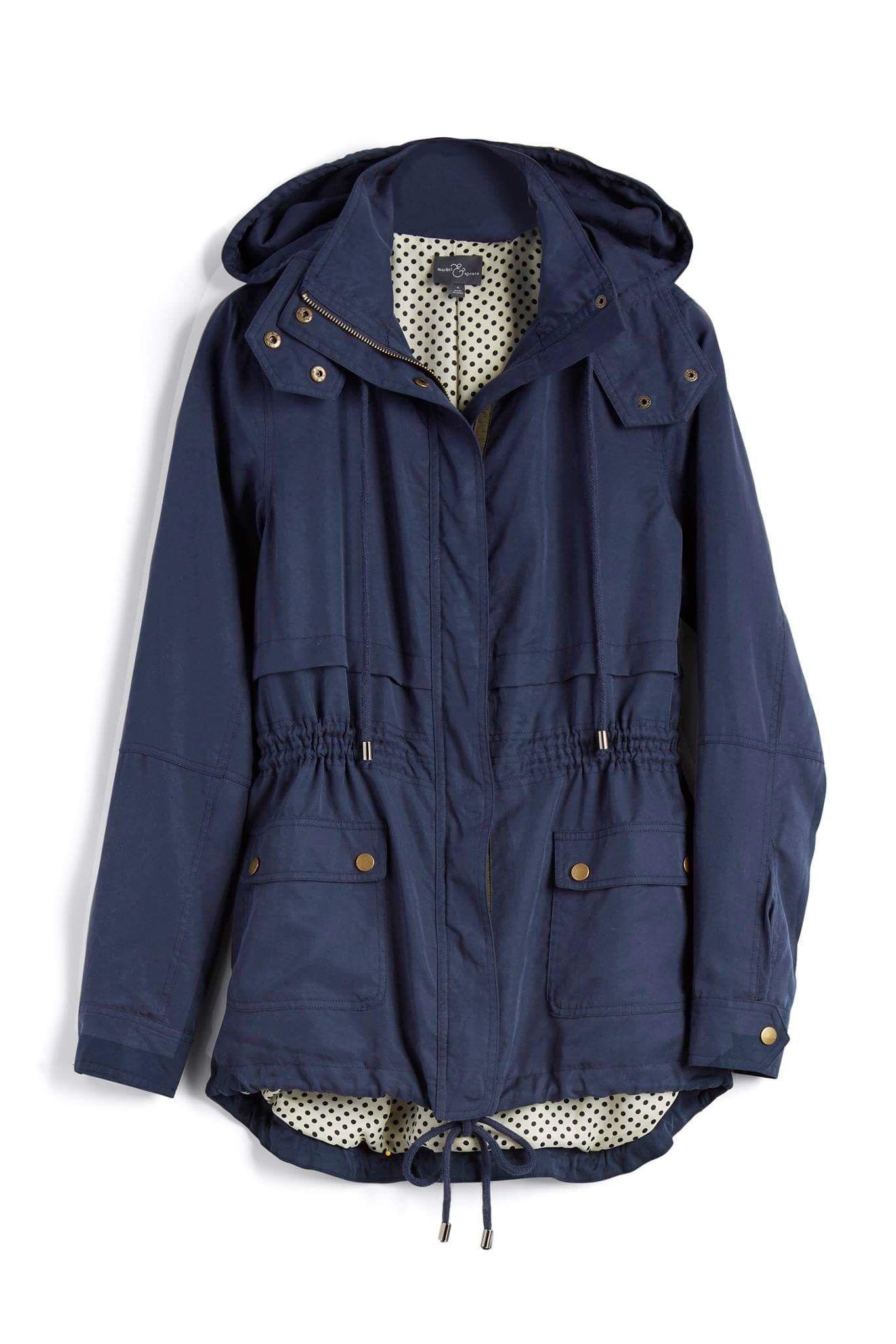 faaf42390c7cf Market   Spruce hooded cargo pocket jacket