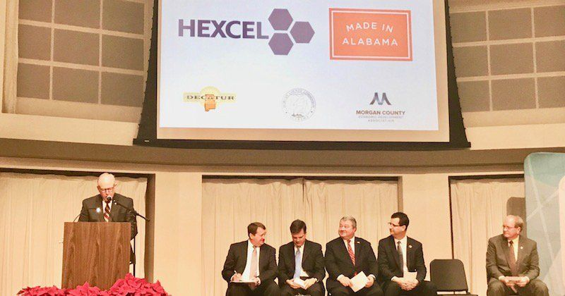 Hexcel Investing 200M In Alabama Expansion