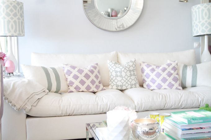 love the soft colors - office and master suite