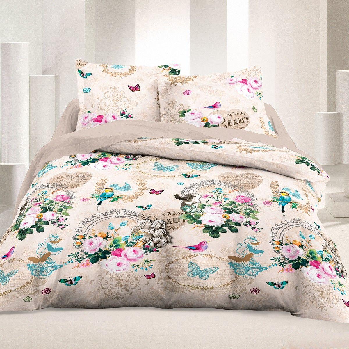 Wonderful Ornella   Bed Linen Set, 100% Cotton ...