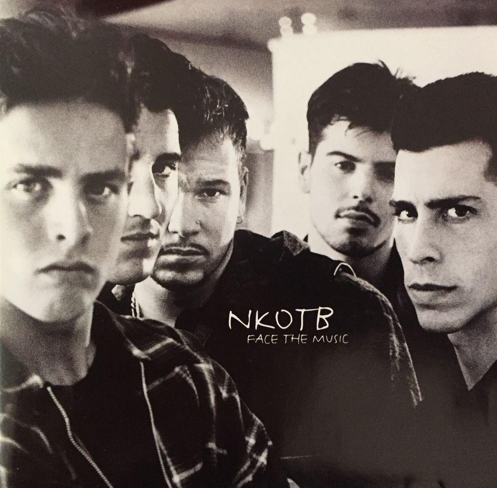 NKOTB Face The Music CD Brand New And Sealed | Pinterest