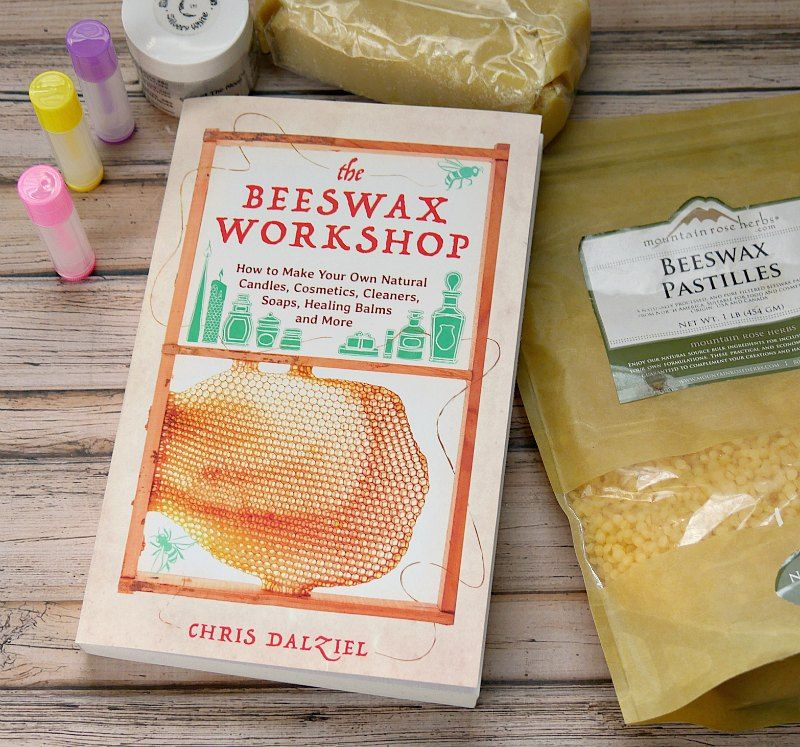 Easy tutorial on how to make homemade lip balm for kids