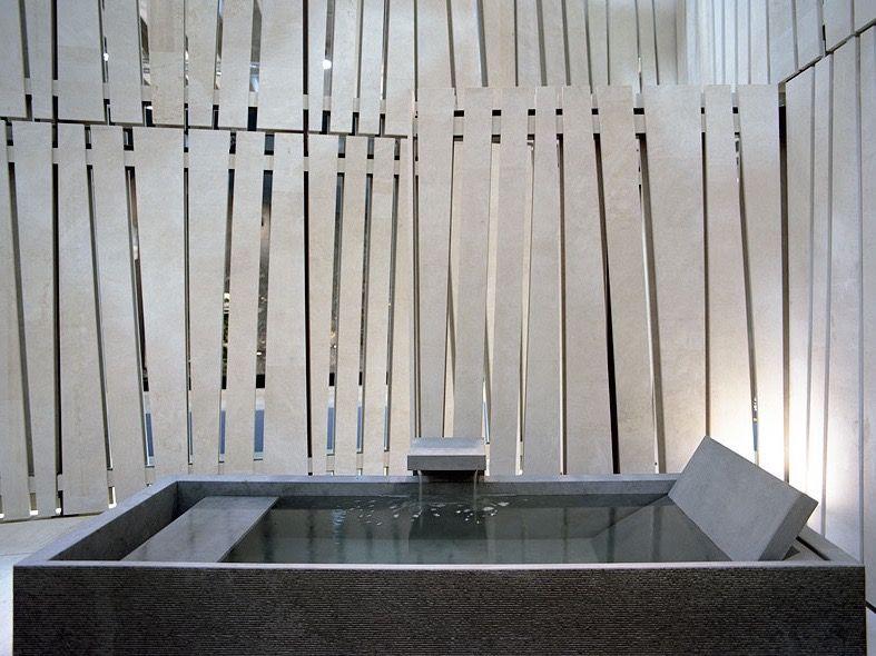 Badewanne Naturstein minimalistische badewanne aus naturstein naturstein marmor