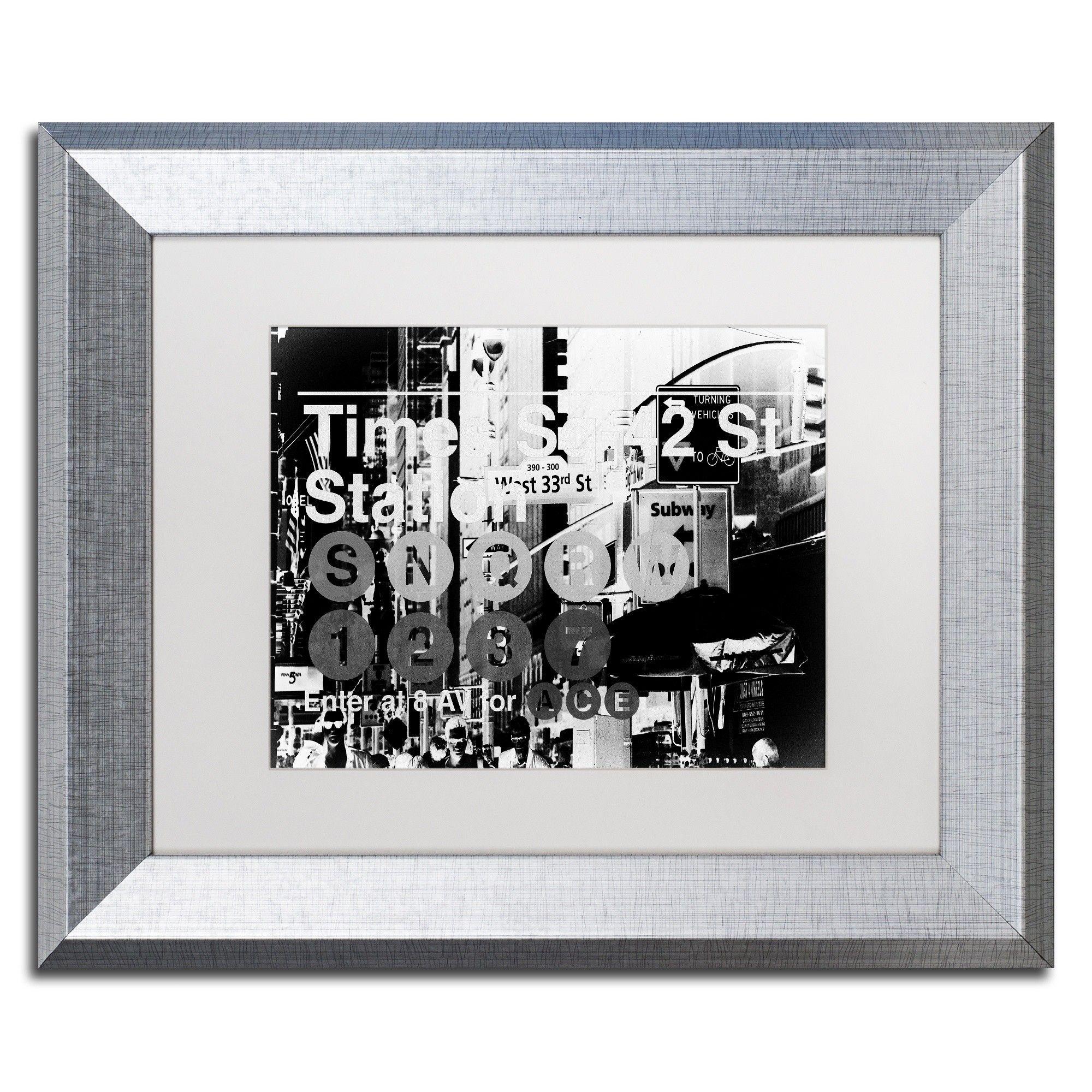 'Subway City Art NYC II' by Philippe Hugonnard Giclée Framed Photographic Print