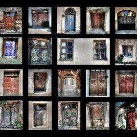 Bozcaada'nın Kapı Ve Pencereleri
