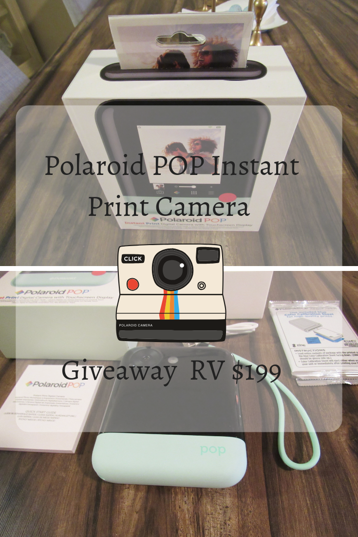 Giveaway Polaroid POP Instant Print Camera RV $199 | Giveaways
