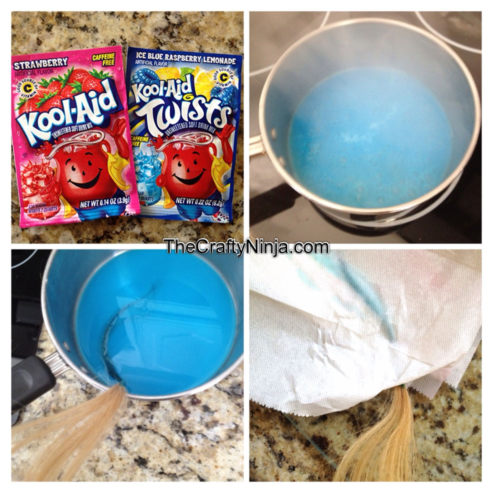 Kool Aid Hair Dye This Is Simple And Fantastic Use Less Water