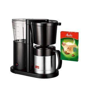 【ペーパーフィルターセット!】メリタ コーヒーメーカー オルフィ SKT52-1-B ブラック [2〜5杯用][ペーパードリップ式][SKT521B](メール便不可)