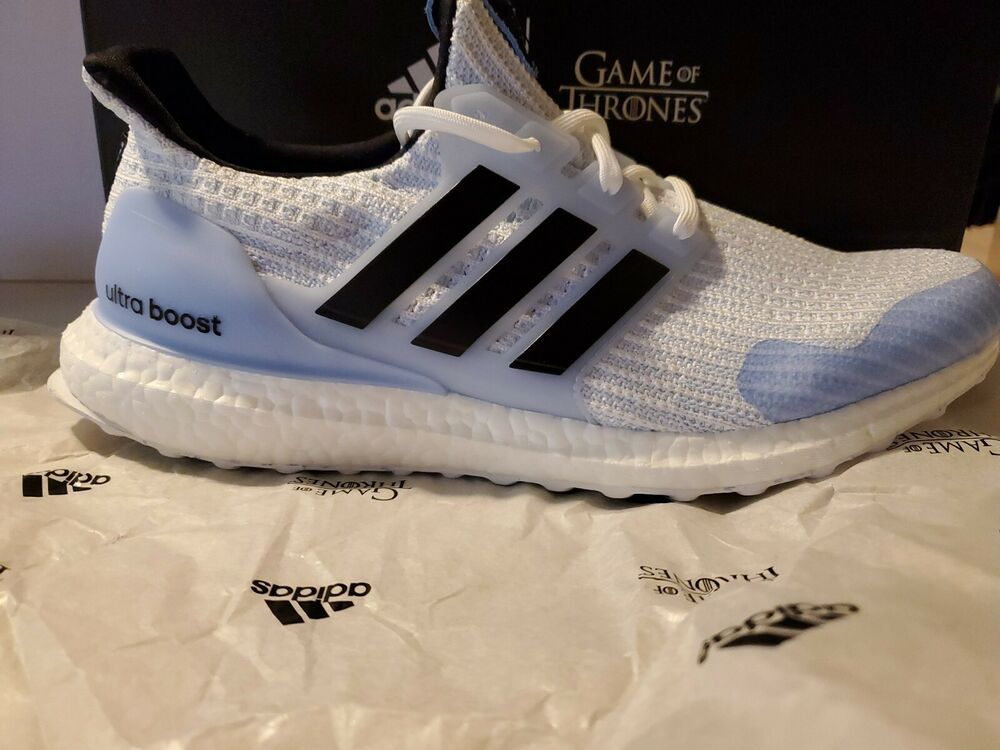 fddfd1214b2 Game of Thrones x Adidas UltraBOOST White Walkers GoT EE3708 BRAND NEW SIZE  10 ( 4