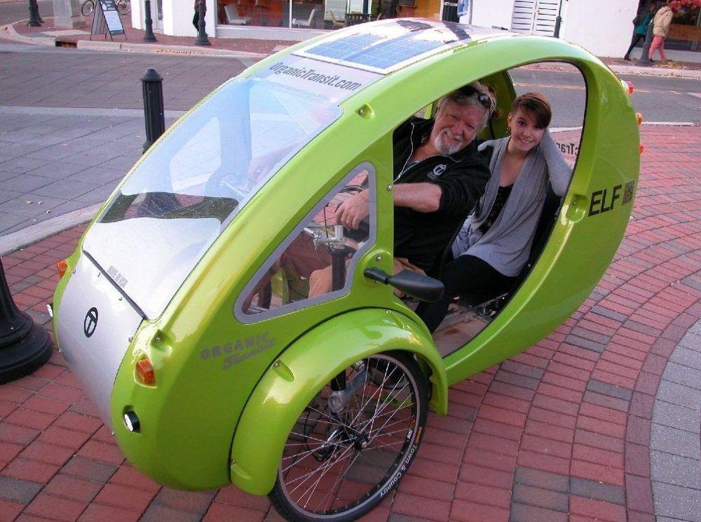 Solar Powered Electric Bike Cars Elf And Pebl Might Just Be Weird Electric Bike Solar Power Solar