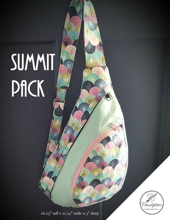 Summit Pack: DIGITAL Sewing Pattern | Nähen | Pinterest | Nähen ...