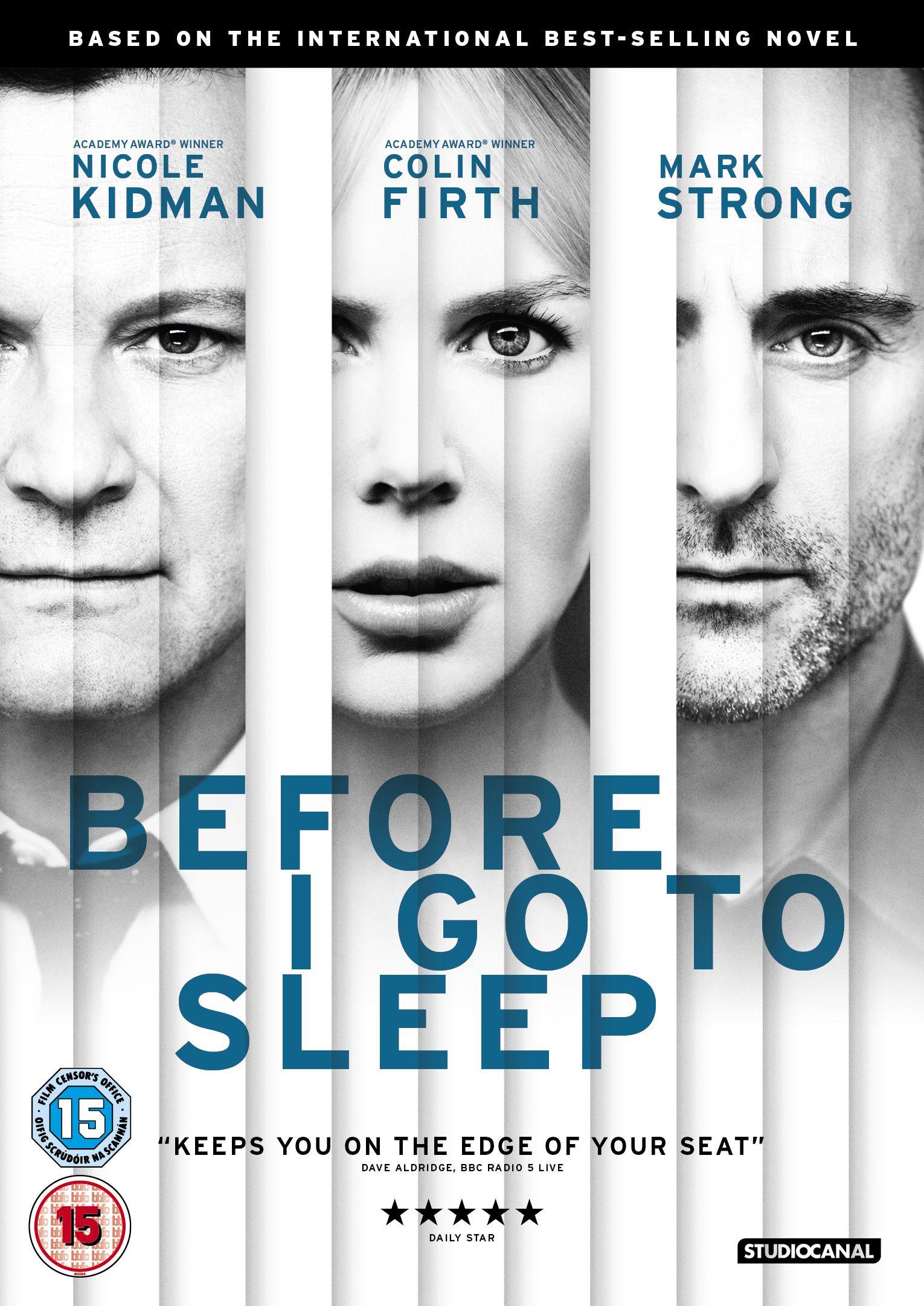 Before I Go to Sleep by SJ Watson Go to sleep, Film