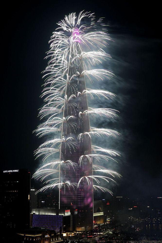 롯데월드타워 불꽃축제 / Lotte World Tower Fireworks