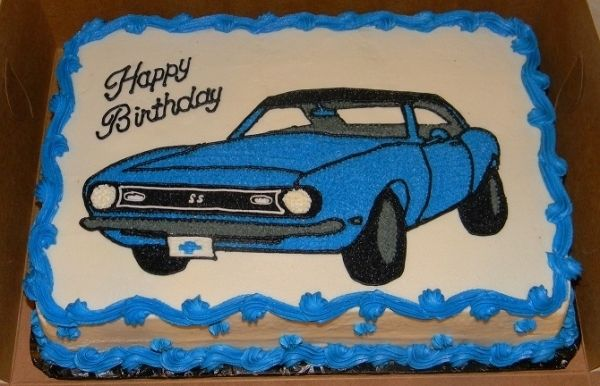 Vroom Fun Cake Ideas And Recipes Dad Birthday Cakes