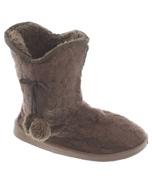 Amisha Knitted Shearling Boot