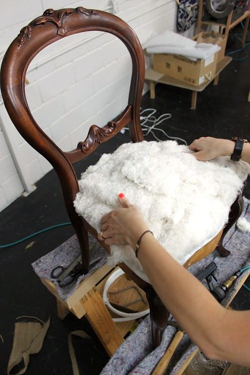 upholstery basics: constructing coil seats — part 2   upholstery