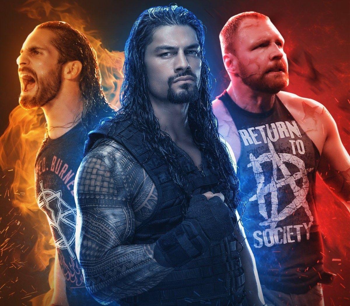Seth Rollins Roman Reigns Dean Ambrose Believe In The Shield