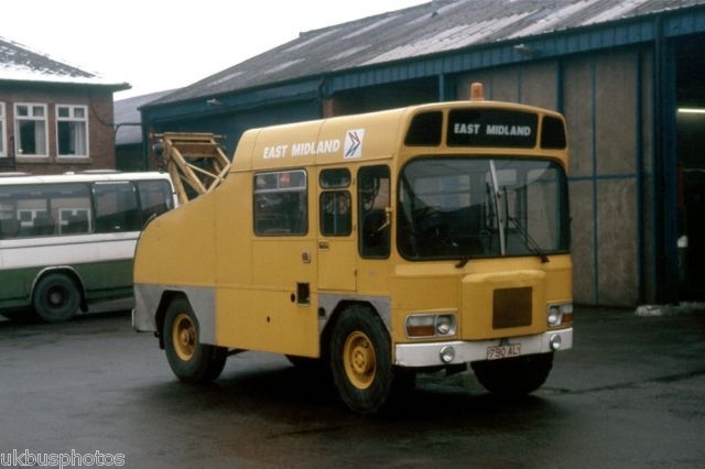 EAST MIDLAND AEC MATADOR TOWING VEHICLE Bus Photo | eBay