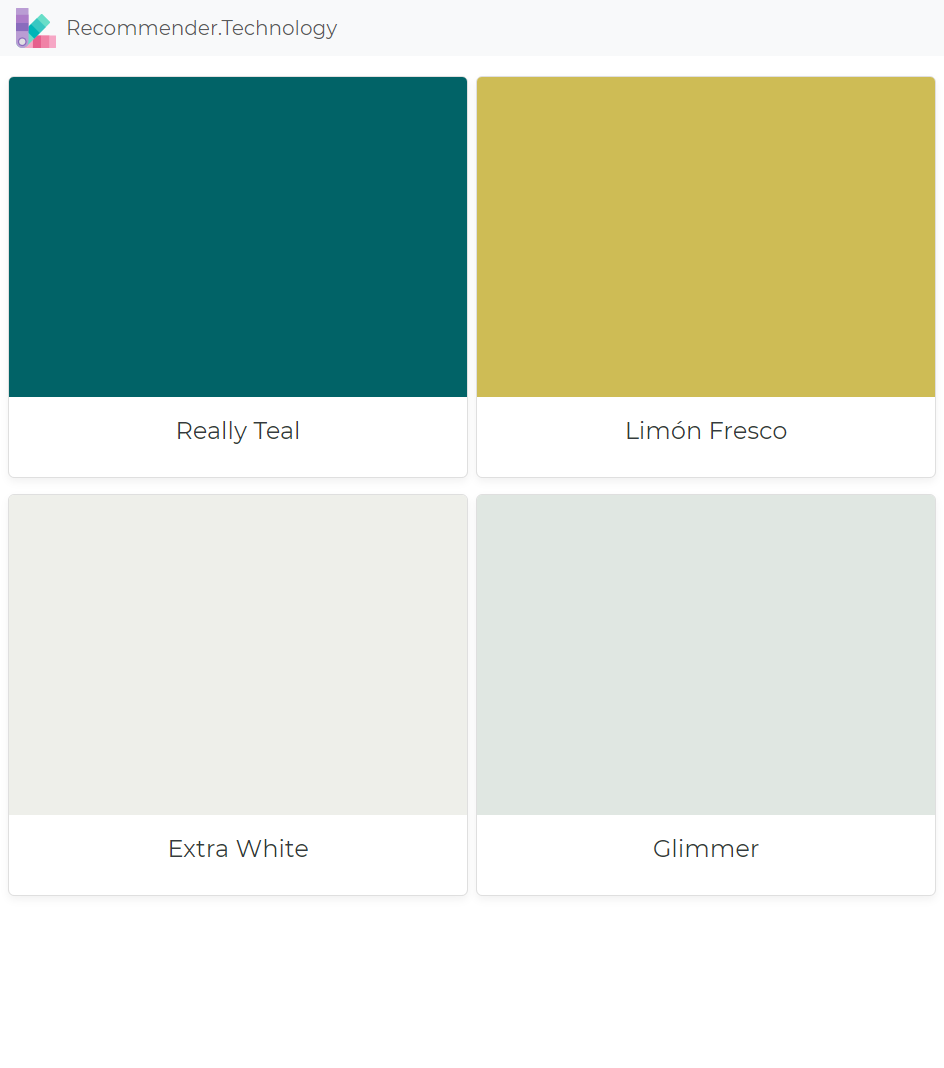 Find your paint colors here.