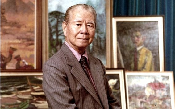 Liu Kang (Yongchun, China; moved to Malaysia when was 6-year-old; 1911~2003 died in Singapore)