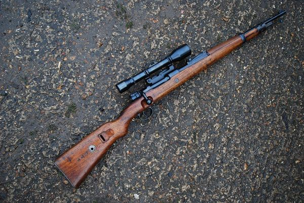 Deactivated K98 Mauser Sniper Rifle