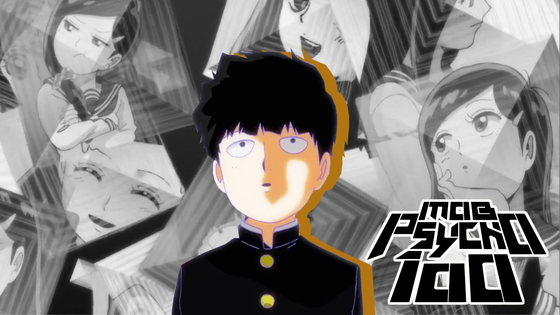 MOB Psycho 100 Anime 2016 Full HD Wallpaper