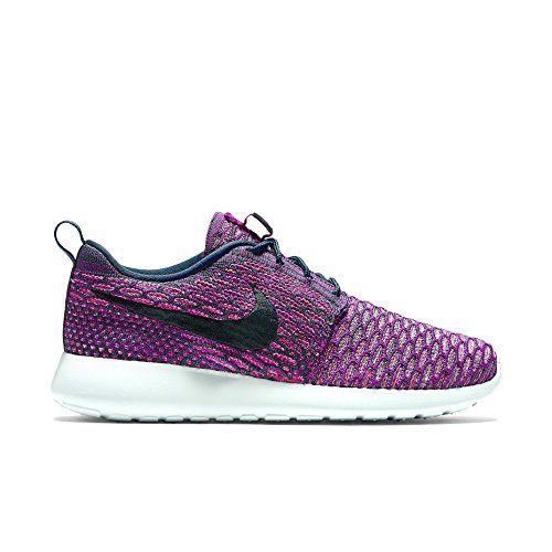 Nike Womens WMNS Roshe One Flyknit Dark Atomic Teal/Vivid... http: