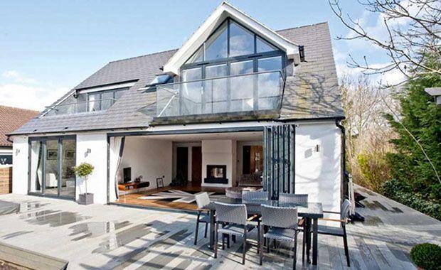 Job House Conversion With Balcony 0 Jpg 620 380 Pixels Bungalow Exterior Bungalow Design Bungalow Conversion