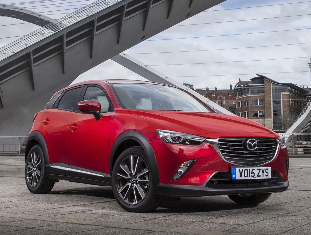 Mazda CX-3 UK-spec '2015